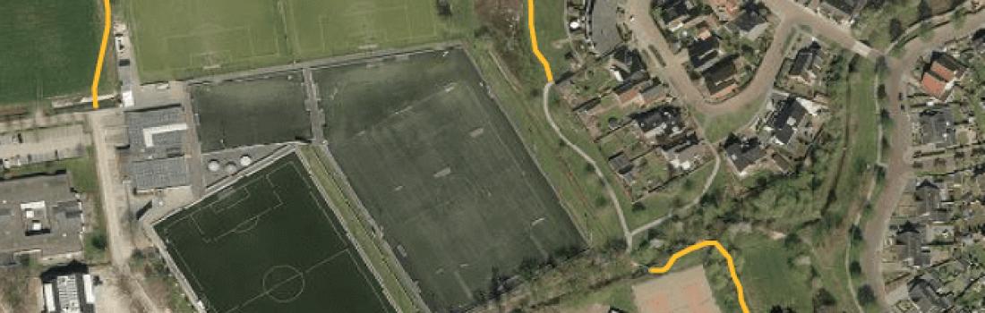 Nieuwe looproute langs sportvelden Tubbergen